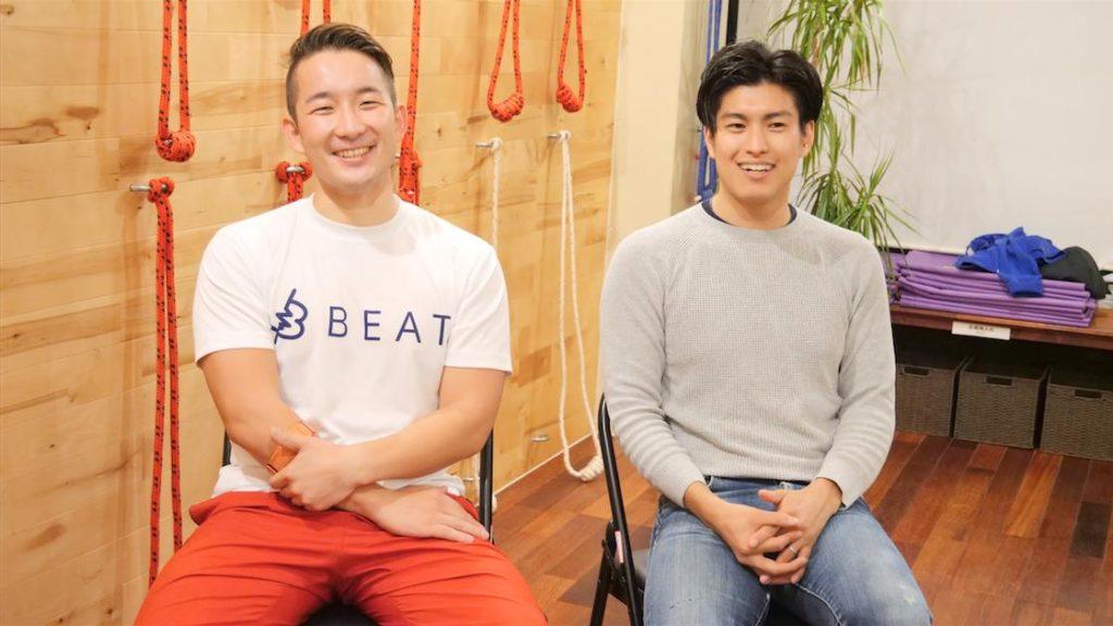 Kotaさんと岩佐さんの画像