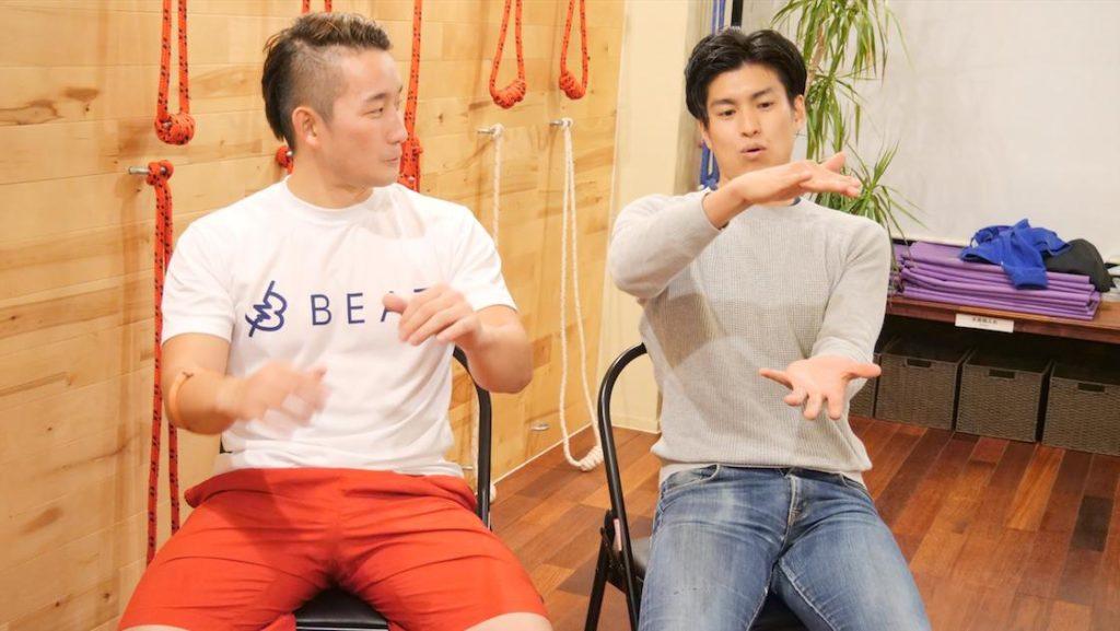 Kotaさんと岩佐さんが語り合う