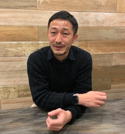 ホットヨガZupの代表、田平周兵さん画像